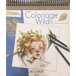 Cuaderno de colorear Wild by Emmanuelle Colin 6