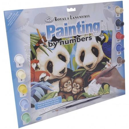 """Pintar por números """"Pandas"""""""