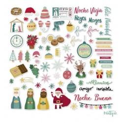 Die Cuts de Navidad, 66 formas