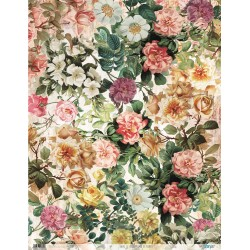 Papel de Arroz flores