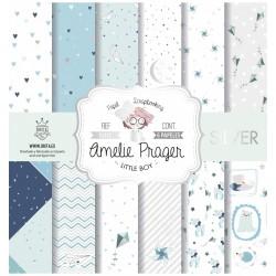 Colección Papel Amalie Praguer. Little boy Silver