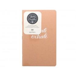 Cuaderno A5 hojas con puntos para Kelly Creates Journal