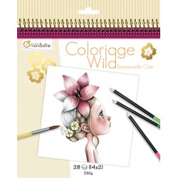 Cuaderno de colorear Wild by Emmanuelle Colin 1