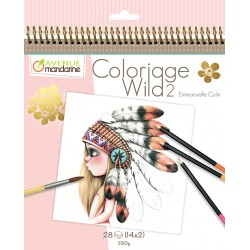 Cuaderno de colorear Wild by Emmanuelle Colin 2