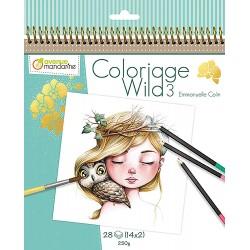 Cuaderno de colorear Wild by Emmanuelle Colin 3