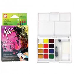 Pocket de Acuarelas Koi Colores Especiales, Metálicos y Reflex