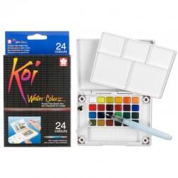 Pocket de Acuarelas Koi Colores 24 pastillas