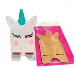 Kit de Soporte para Móvil con forma de Unicornio