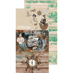 Colección Project Life Cards Sea Stories, Craft O´Clock