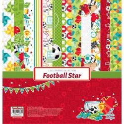 """Colección de Futbol """"Football Star"""", Scrapberry"""