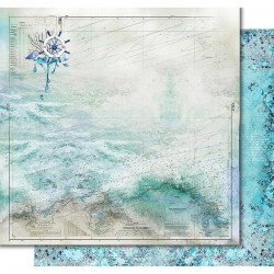"""Papel """"Nautical Chart"""", Colección """"Sea Time"""", Kora Projects"""