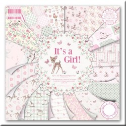 "Colección Papel First Edition, ""It´s a Girl"""