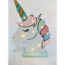 Lámpara LED de luz de ambiente de Unicornio