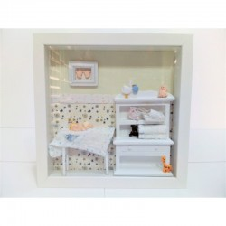 Marco Miniatura Dormitorio de Bebe