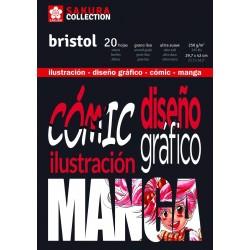 Bloc Bristol para Rotulador, Sakura
