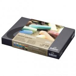 Caja de 15 1/2 barras, Pastel Suave Rembrandt