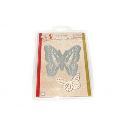 """Troquel metálico con forma de """"Mariposa"""""""