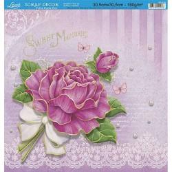 "Papel Rosa ""Sweet Memories"" Litoarte"
