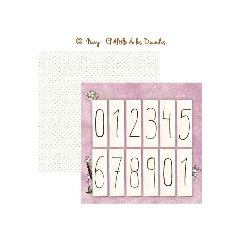 """Papel """"Calendario Perpetuo"""" de la colección """"Otro año mágico"""", El Altillo de los Duendes"""