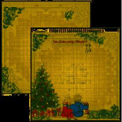 """Papel de Navidad """"Arbol de Navidad"""", Dayka"""