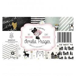 """Colección Papeles """"Mágica Navidad 1"""", Amelie Prager"""
