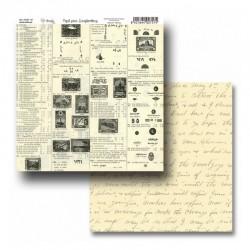 """Papel Colección """"Old Paper"""" Amelie, Textos manuscritos"""