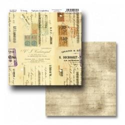 """Papel Colección """"Old Paper"""" Amelie, Postales y sellos"""