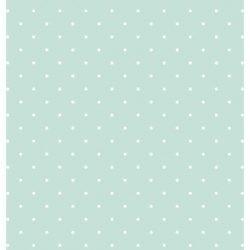 Papel de Cartonaje Menta-Lunares, 32x48,3 cm