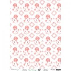Papel de Cartonaje Angelitos, 32x45 cm