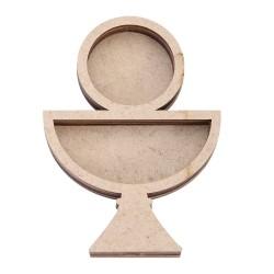 Shaker en forma de Cáliz, de 8,7x12,5 cm