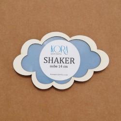 Shaker en forma de nube de 14 cm
