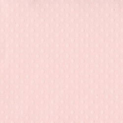 Cartulina lisa con textura de puntos, color Rosa Claro