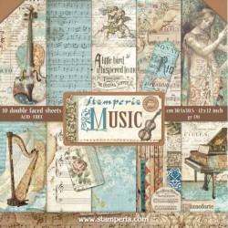 Colección Music, Stampería