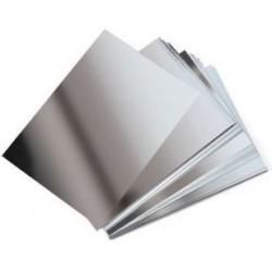 Cartulina Metalizada Plata, A4