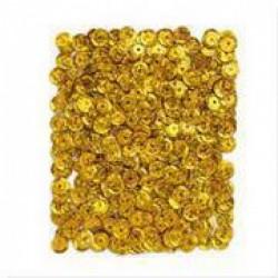 Lentejuelas Holográficas en color Oro Oscuro de 9 MM, 15 G