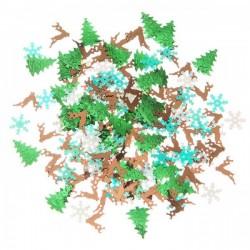 Lentejuelas Opalescentes motivos navideños