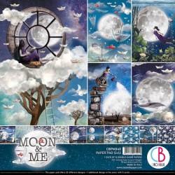 """Colección Papeles """"Moon & Me"""""""