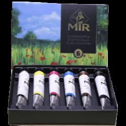 Caja de Acrílicos Extrafinos MIR, 20 ml