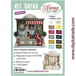 Kit Dayka Cuadro tienda Noel