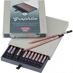 Caja de Lápices Bruynzeel Design, Graphite