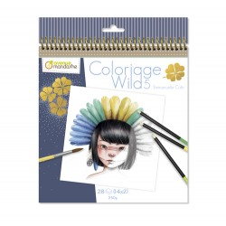 Cuaderno de colorear Wild by Emmanuelle Colin 5