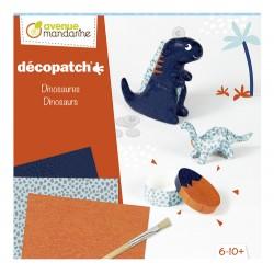 Kit de iniciación al Decopatch, Dinosaurios