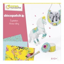 Kit de iniciación al Decopatch, Caballo