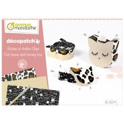 Kit de iniciación al Decopatch, Gatos
