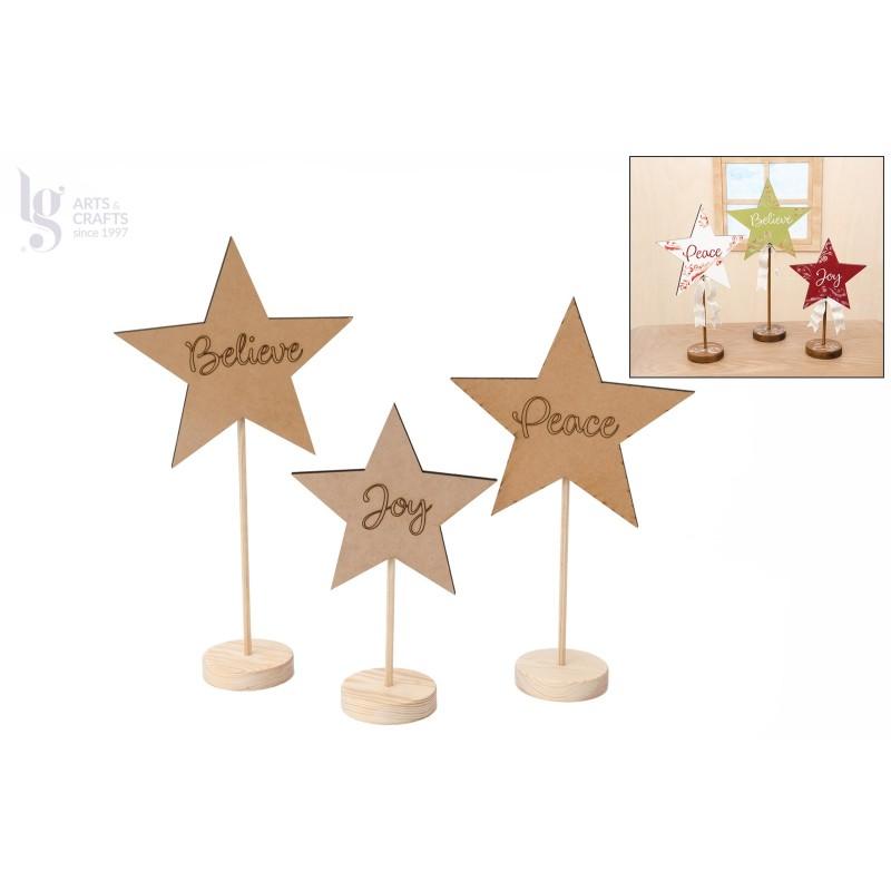 Kit de Estrellas de Navidad