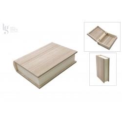 Caja libro de 23x18x6 cm