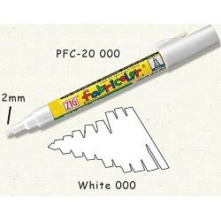 Rotulador Textil blanco