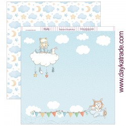 """""""Bebé en nube"""" Bebé Niño"""