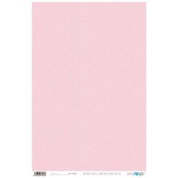 Papel de cartonaje lunar mini blanco/rosita