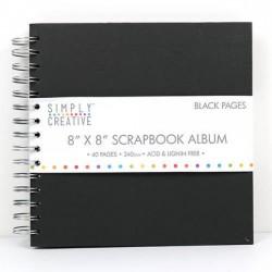 Album 8x8 - Black Pages